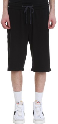 James Perse Shorts In Black Cotton