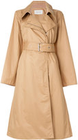Lemaire belted zipped trench coat