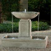 Campania Austin Outdoor Fountain in Alpine Stone