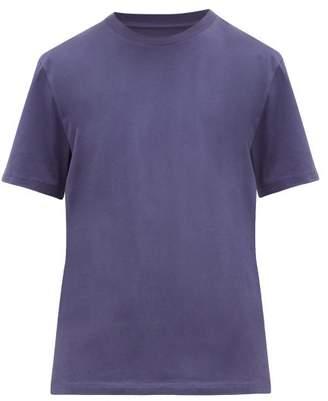 Maison Margiela Cotton-jersey T-shirt - Mens - Blue