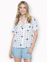 Splendid Sand Dollar Short Sleeve Shirt