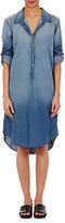 NSF Women's Beaded-Shoulder Shirtdress-NAVY