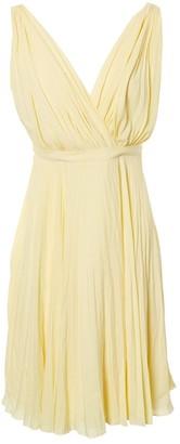 Prada Yellow Polyester Dresses