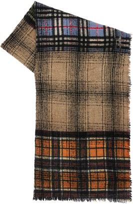Faliero Sarti Brando Checked Virgin Wool Scarf