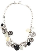 Kate Spade Crystal & Resin Bauble Collar Necklace