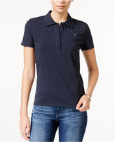 Armani Exchange Short-Sleeve Polo Top