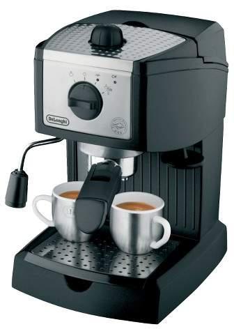 De'Longhi Delonghi High Pressure 15 bar Espresso Maker - Black EC155M