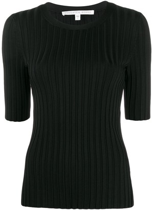 Veronica Beard Dillon ribbed top