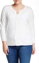 Susina Solid Cardian (Plus Size)