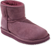 L.L. Bean Women's Wicked Good Shearling Boots, Low