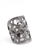 St. John Women's Swarovski Crystal Cocktail Ring