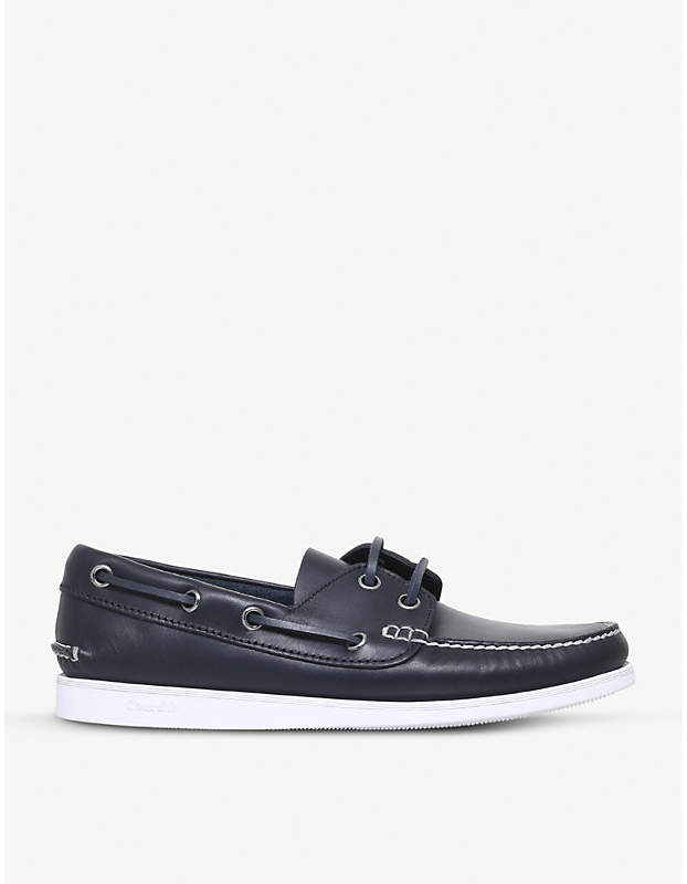 Church's Marske leather boat shoes