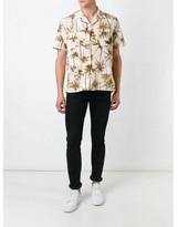 Saint Laurent palm tree print shirt