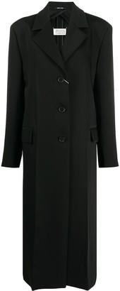 Maison Margiela Single-Breasted Long Coat