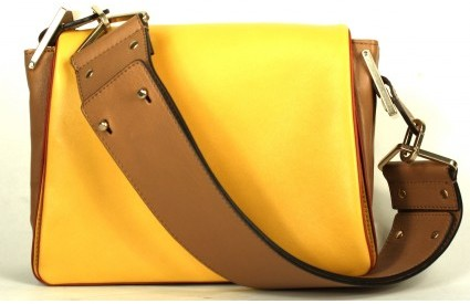 Chloé pristine (PR Mimosa Grained Sheepskin Leather Medium Jade Bag