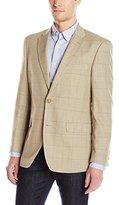 Tommy Hilfiger Men's Windowpane Plaid Sport Coat