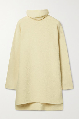 Deveaux Yara Wool-blend Turtleneck Sweater - Ivory
