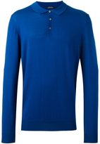 HUGO BOSS 'T-Bertone' polo jumper - men - Virgin Wool - M