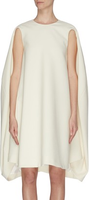 Nina Ricci Gabardine wool shift dress
