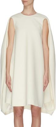 Nina Ricci Gabardine wool shift dress