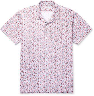 Engineered Garments Camp-Collar Floral-Print Cotton Shirt - Men