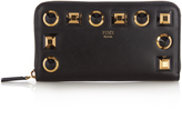 Fendi Rainbow continental leather wallet