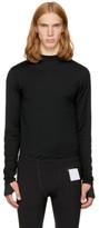 Satisfy Black Long Sleeve Merino T-shirt