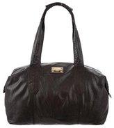 Dolce & Gabbana Leather Weekender Bag