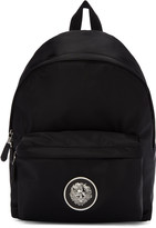 Versus Black Nylon Medusa Backpack