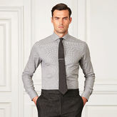 Ralph Lauren Purple Label Houndstooth Dress Shirt
