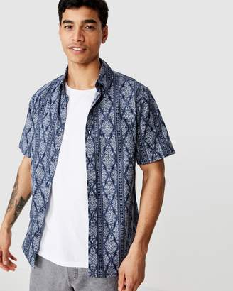 Cotton On Vacation Short Sleeve Shirt