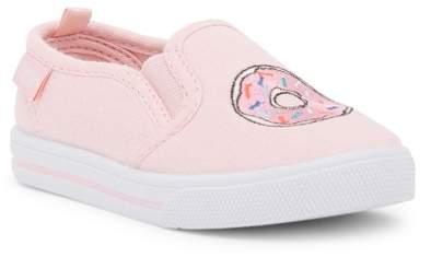 Osh Kosh OshKosh Donut Embroidered Slip-On Sneaker (Toddler & Little Kid)