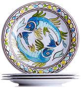 Le Cadeaux Catalina 4-piece Melamine Salad Plate Set