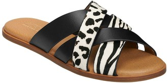 Aerosoles x Martha Stewart Cross Band Flat Sandals - Pilot
