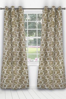 Duck River Textile Rhys Blackout Grommet Panel Curtains - Set of 2 - Taupe