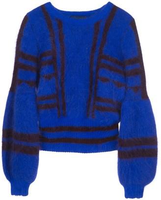 Cynthia Rowley Willa intarsia sweater