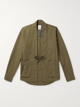 Visvim Lhamo Cotton-Blend Canvas Shirt