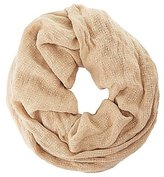 Charlotte Russe Textured Woven Infinity Scarf
