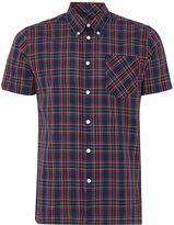 Merc Short Sleeve Tartan Check Shirt