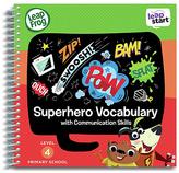 Leapfrog LeapStart Year 1 Activity Book Superhero Vocabulary