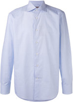 Canali checked long sleeve shirt - men - Cotton - 40