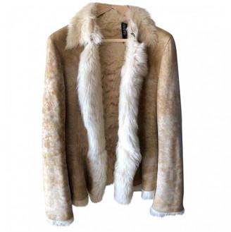 Gucci Beige Shearling Jacket for Women