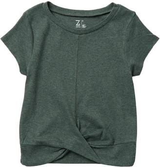 Zella Z By Twist Front Rib Tee (Little Girls & Big Girls)