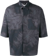 Jil Sander printed shortsleeved shirt - men - Cotton - 38