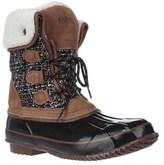 Khombu Julliard Fleece-lined Snow Boots, Tan/black.