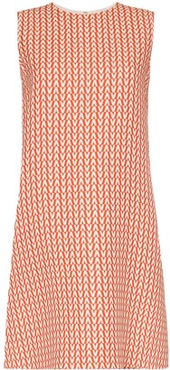 Valentino A-Line Printed Dress