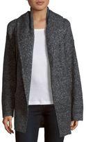 Vince Hooded Wool-Blend Cardigan