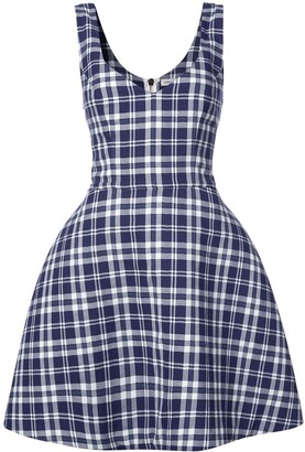 Natasha Zinko Plaid Dress