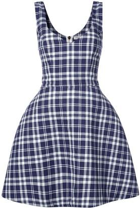 Natasha Zinko Plaid Dress