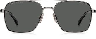 HUGO BOSS 58mm Navigator Sunglasses
